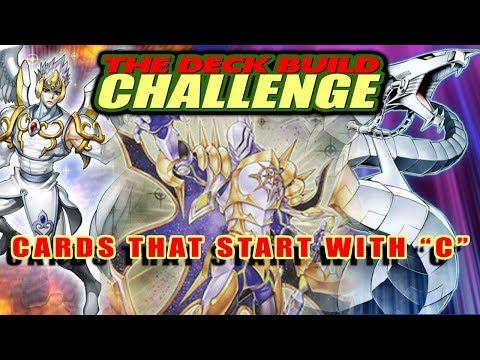 """CARDS THAT START WITH """"C"""" - The Deck Build Challenge w/JJCircus Vs Sheeps"""