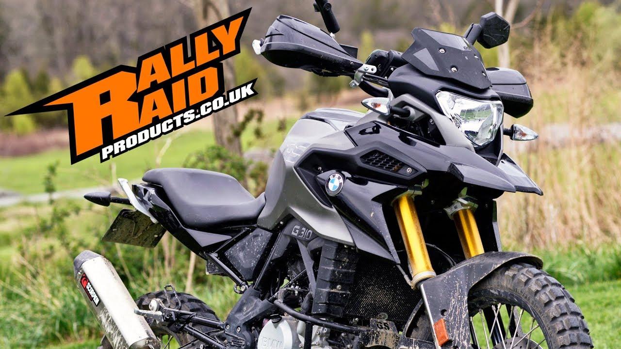 rally raid bmw g 310 gs adventure kit youtube. Black Bedroom Furniture Sets. Home Design Ideas
