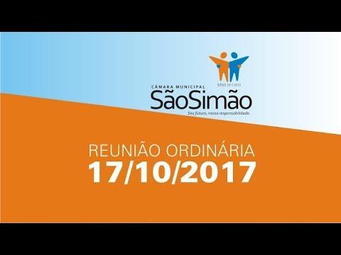REUNIAO ORDINARIA 17/10/2017