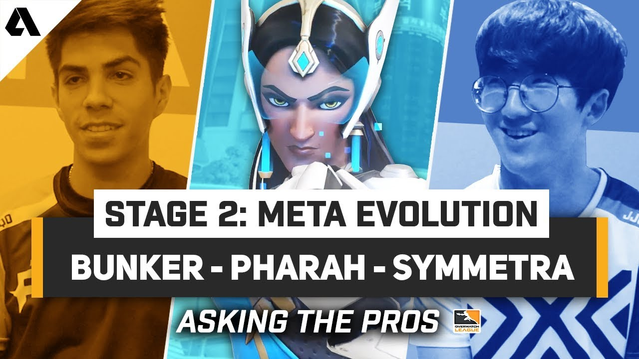 Symmetra, Pharmercy & Baptiste Bunker | Overwatch League Stage 2 Meta Explained By The Pros