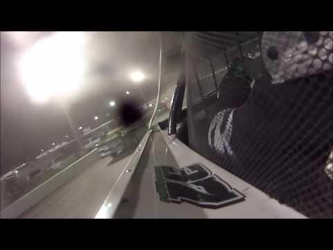 Tyler Sistrunk Motorsports - Volusia Speedway Park - Feature In Car Cam - 7-3-2016