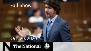 CBC News: The National | House of Commons debate leads to confidence vote | Oct. 20, 2020