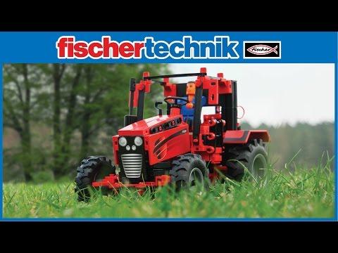 fischertechnik ADVANCED Tractor Set IR Control -524325- product video