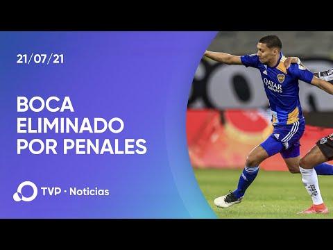 Libertadores: Boca eliminado por penales