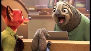 Zootopia - Sloth scene [HD]