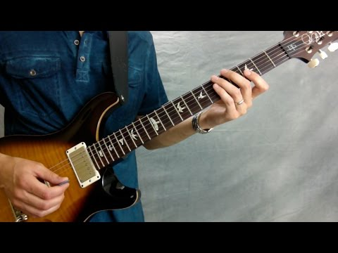 Cliffs of Dover Guitar Tab | Verse and Chorus with Backing Track