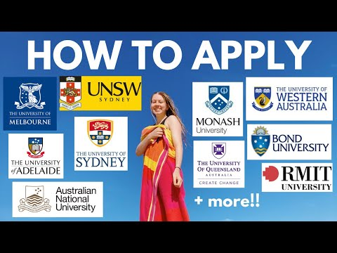 HOW TO APPLY TO EVERY UNIVERSITY IN AUSTRALIA !!