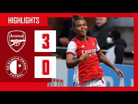 HIGHLIGHTS |  Arsenal vs Slavia Prague (3-0) |  Champions League |  Parris, Small, Miedema