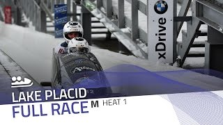 Lake Placid | BMW IBSF World Cup 2016/2017 - 2-Man Bobsleigh Heat 1 | IBSF Official