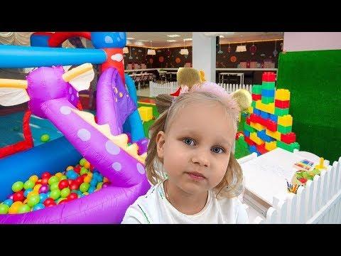 КЛАССНАЯ детская площадка Мадагаскар и развлечение для детей