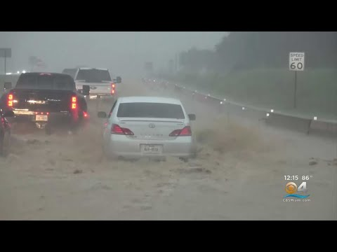 Tropical Depression Imelda Is Drenching Parts Of Southeast Texas
