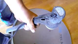 antena para señal abierta reutilizando parabolica