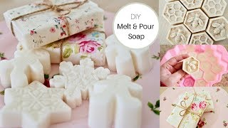 How to make Soap, The melt and pour easy method