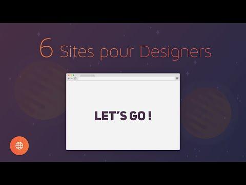 6 Sites pour Designers