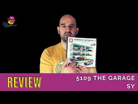 Ey Mann, wo ist mein Auto? Na, im Parkhaus The Garage von SY | Review von Set 5109