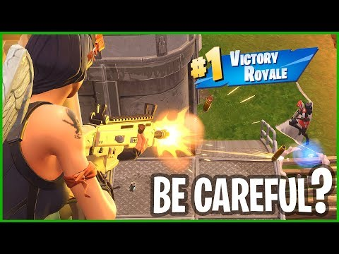 BE CAREFUL - VICTORY ROYALE!