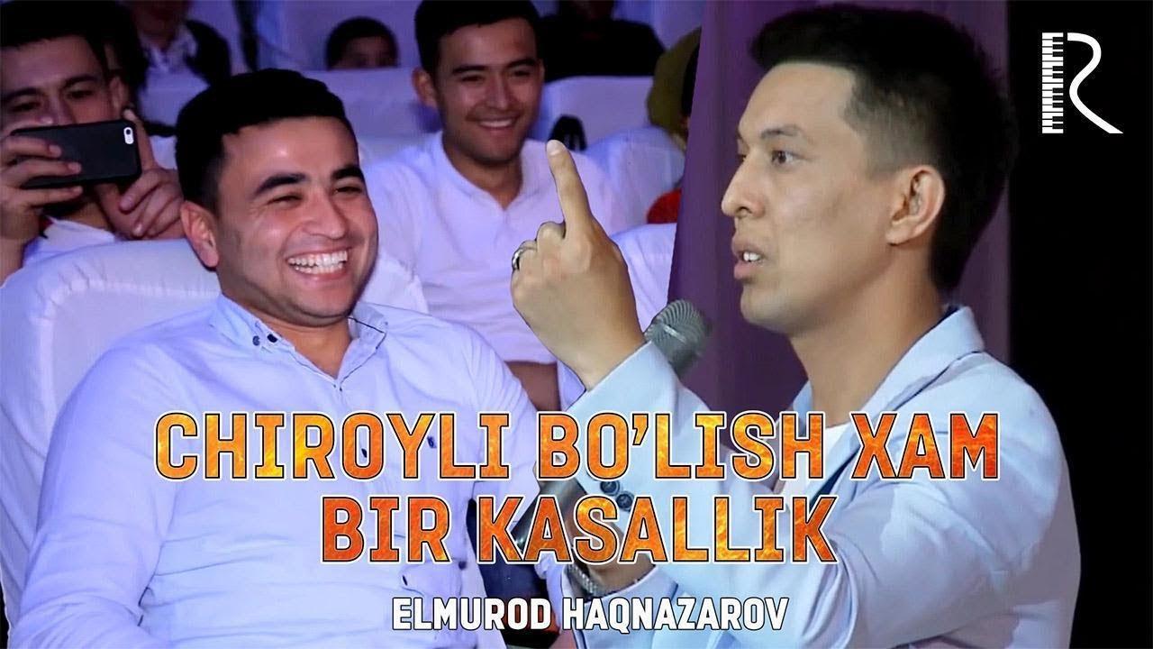 Dizayn a'zosi Elmurod Haqnazarov - Chiroyli bo'lish xam bir kasallik