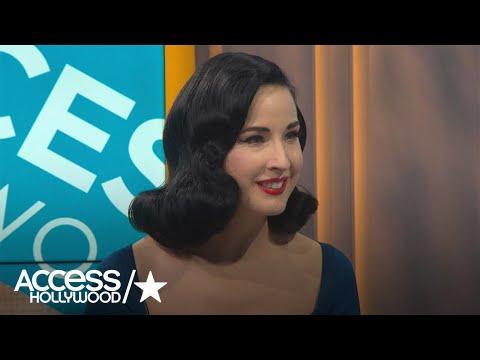 Dita Von Teese's Holiday Beauty Tips