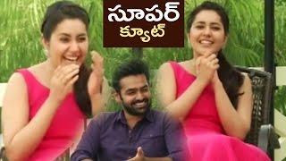 Rashi Khanna Making Fun About Ram Dialogue In Hyper   TFPC