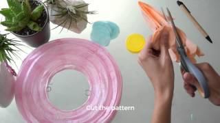DIY Polka Dot Easter Egg Paper Lantern