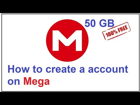 how to create a account on mega