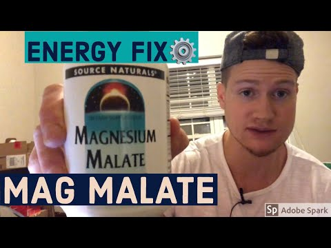 Magnesium Malate Review - Best Magnesium For Energy / Mitochondria / Weight Loss / Anxiety