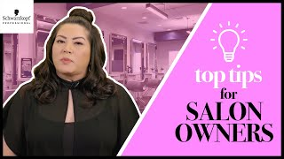 Business Tips for Salon Owners ft. @lisalovesbalayage | Boothcamp Top Tips | Schwarzkopf USA