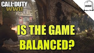 (PS4) Call of Duty: WW2 Is The Game Balanced?