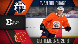 Evan Bouchard | One Goal vs Calgary | Sep. 9, 2018