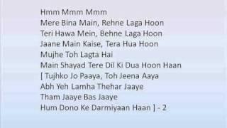 Crook Tujhko Jo Paaya song with lyrics