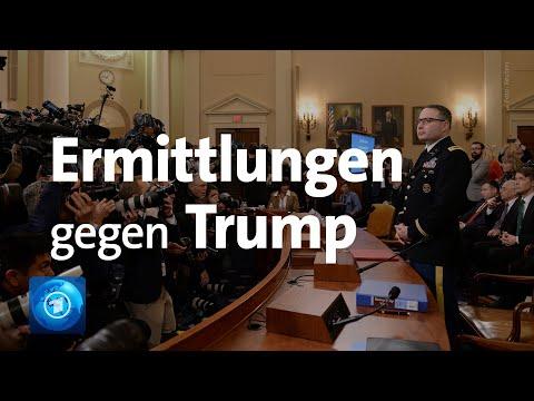 Impeachment-Anhörungen live: Hat