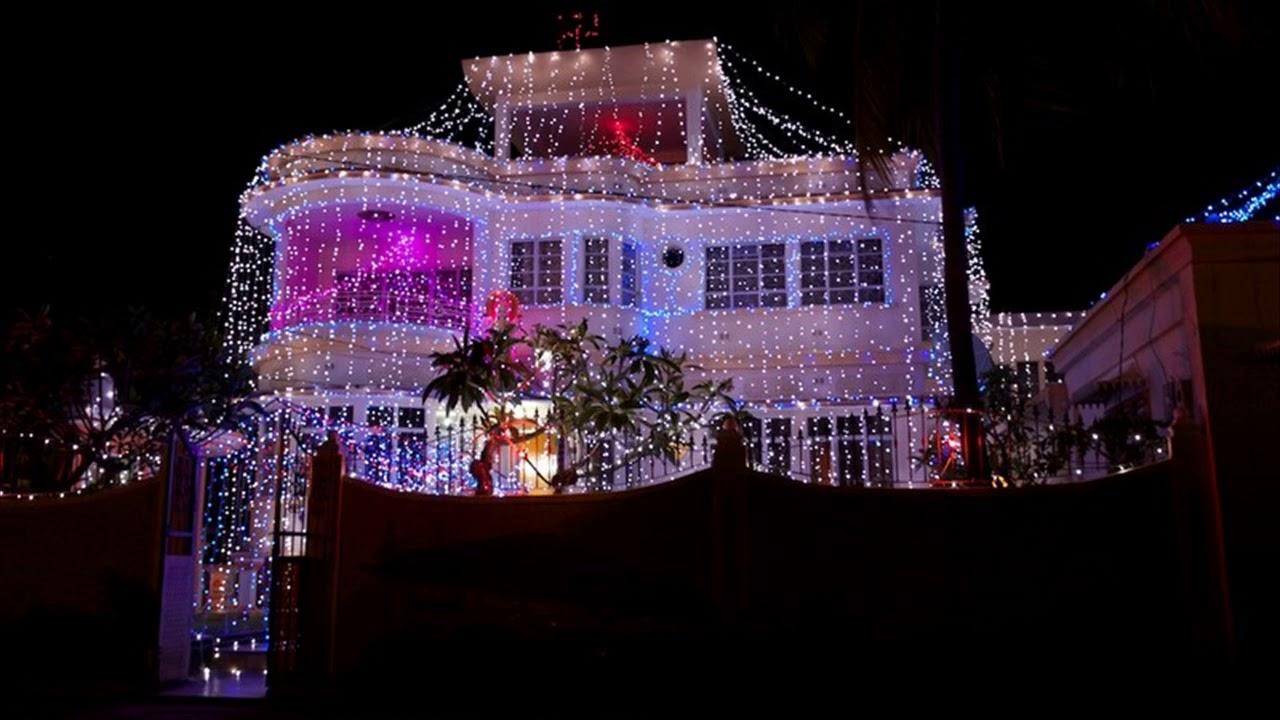 Diwali House Light Decoration , YouTube