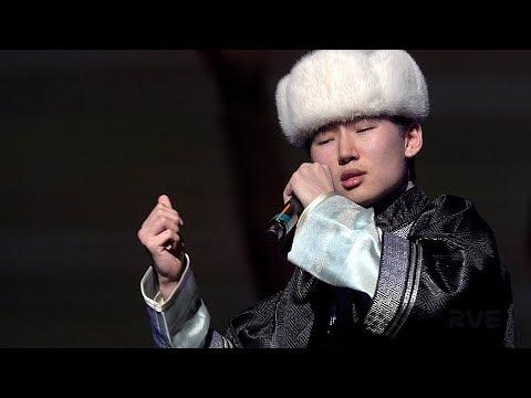 乌达木2019《梦中的额吉》Annie Liu & Uudam Wudamu 首届青少年华语春晚