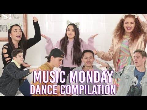 ANYTHING CAN BE A DANCE MOVE w/ The Merrell Twins, Nash Grier, Hayes Grier,  and more!
