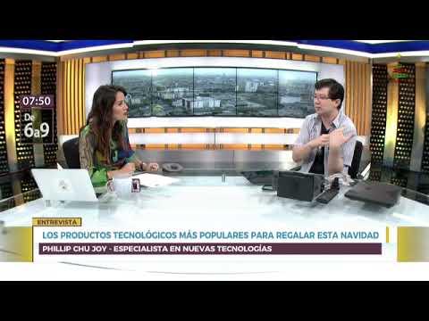 Entrevista Canal N sobre tecnología 2018