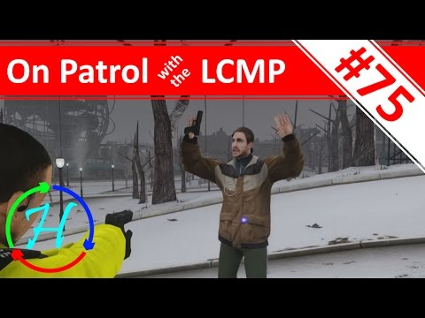 Grounded: Blizzard in Liberty City! - Ep.75 - On Patrol with the LCMP - ELFC with LCPD:FR 1.1