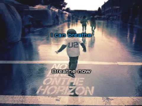 U2 -  Breathe (Karaoke with Lyrics)