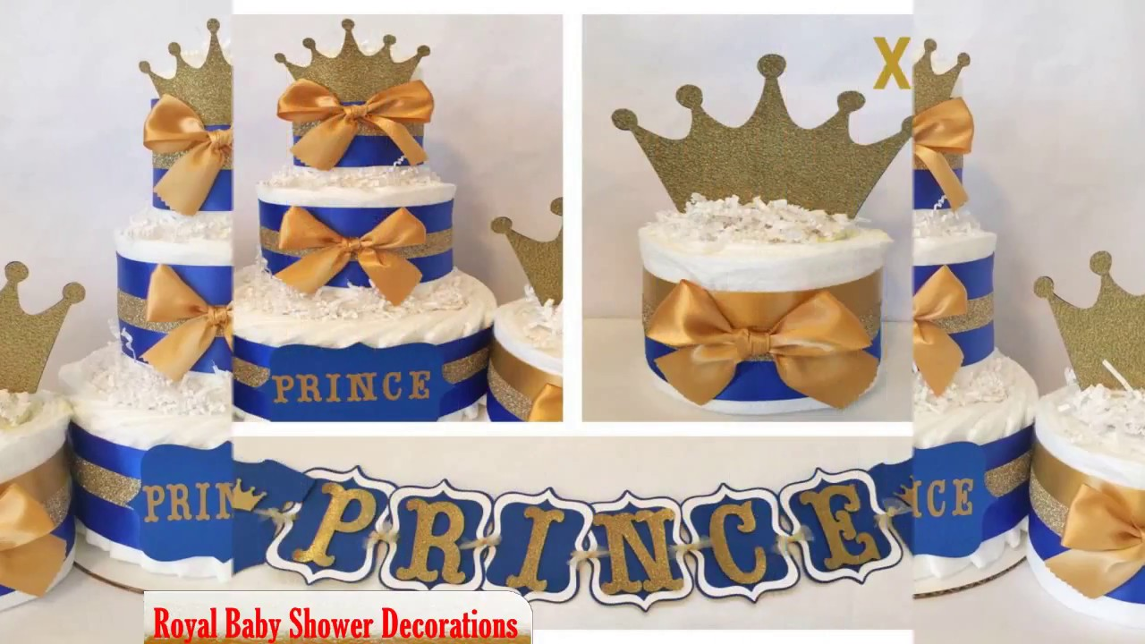 Perfect Royal Baby Shower Decorations   YouTube
