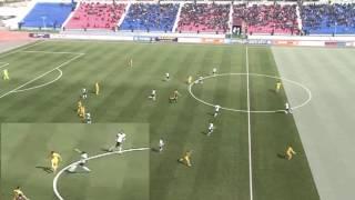Офсайд Исламхана в матче «Иртыш» — «Кайрат»