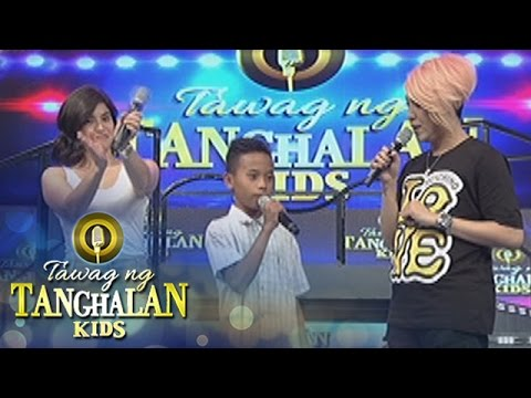 Tawag ng Tanghalan Kids: Vice and Anne give a TV and Karaoke to Jomarie