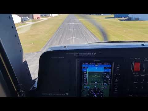 Cessna Skycatcher Short Field Landing Private Field