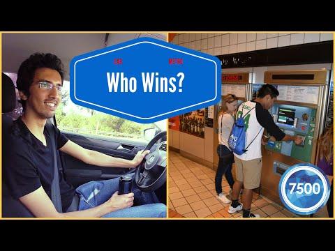 CAR vs. METRO - NoHo to Santa Monica