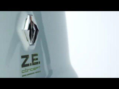 2008 Renault Ze Concept Youtube