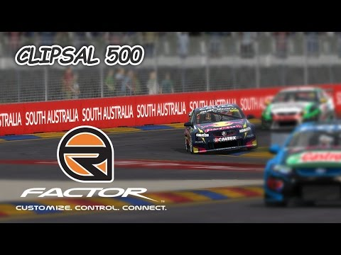 rFactor: Clipsal 50 (V8 Supercar @ Adelaide Street Circuit)