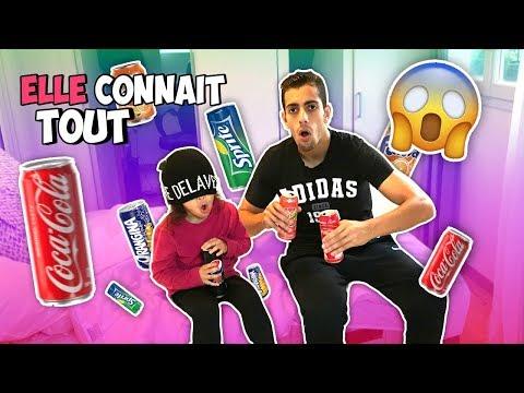 ELLE CONNAIT TOUTES LES BOISSONS A 3 ANS ? OMGG !!