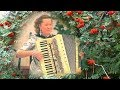 Уральская рябинушка! ❤️❤️❤️ Лучшие народные песни под чарующие звуки аккордеона!╰❥Accordion of love