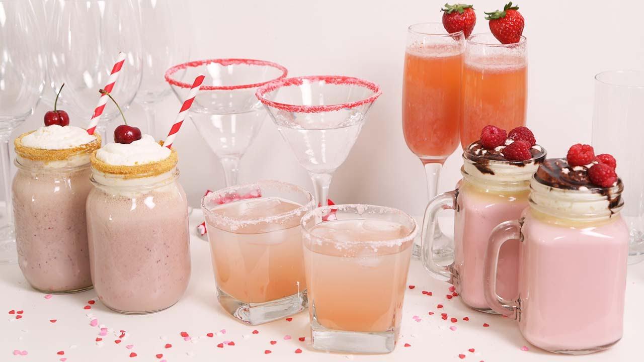 Schön 5 Valentineu0027s Day Drinks | Valentineu0027s Day Menu Collab   YouTube