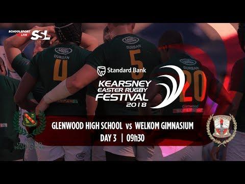 KERF - Glenwood High XV vs Welkom Gim XV, 02 April 2018