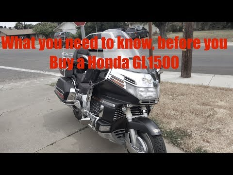 The Whatever, Epidose 32; What to look for when buying a GL1500 Goldwing