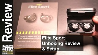 Video Best Wireless Earbuds from Jabra!  The Jabra Elite Sport Earbuds download MP3, 3GP, MP4, WEBM, AVI, FLV Juli 2018